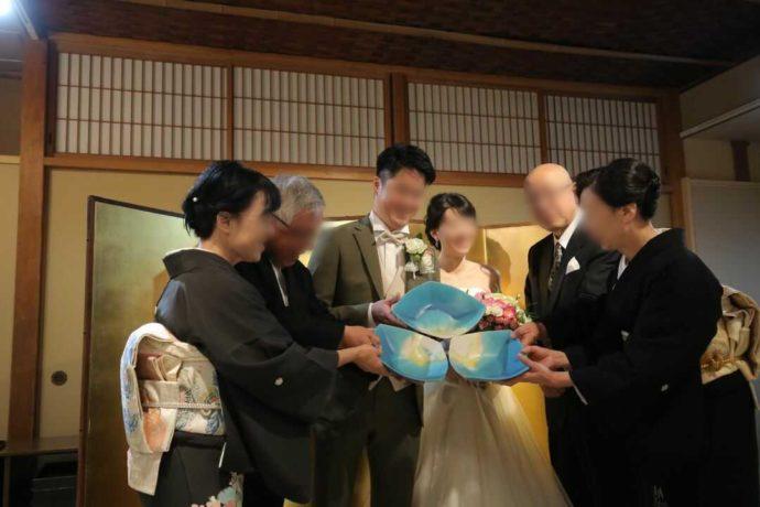 広島市南区にある結婚式場「エシェル」の石亭で行う親族披露宴