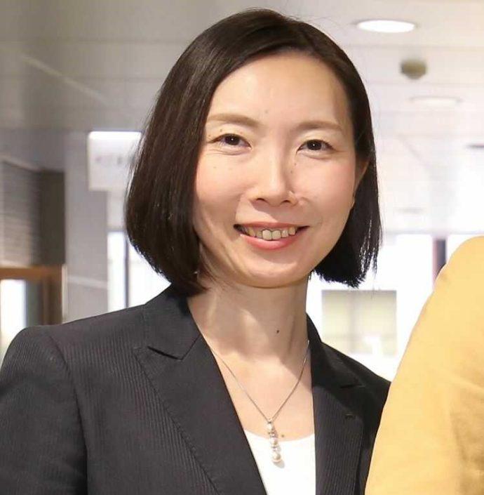 広島市南区にある結婚式場「エシェル」で取締役・ウェディングプランナーを務める新原万紀さん