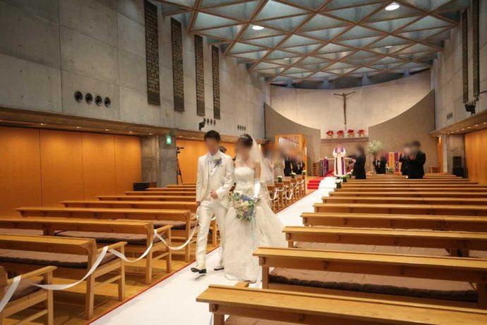 広島市南区にある結婚式場「エシェル」で利用できる日本福音ルーテル広島教会