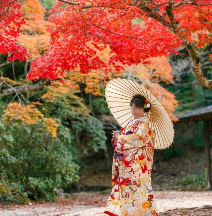 広島市南区にある結婚式場「エシェル」でレンタルする和装イメージ