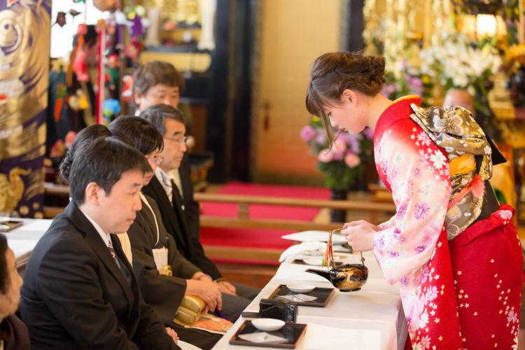 圓應寺の仏前結婚式の流れや所要時間について