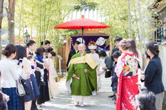 仏前結婚式を挙げることができる圓應寺の紹介