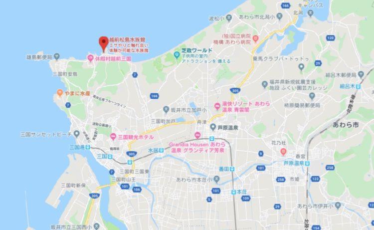 越前松島水族館デートエリア