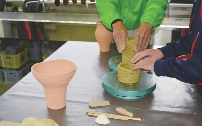 ふるさと考古歴史館で制作できる土器