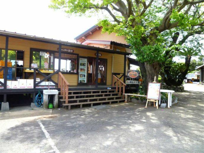 静岡県賀茂郡にある「ふたつぼり」の休憩施設