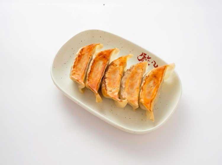 餃々 栄店の生姜餃子