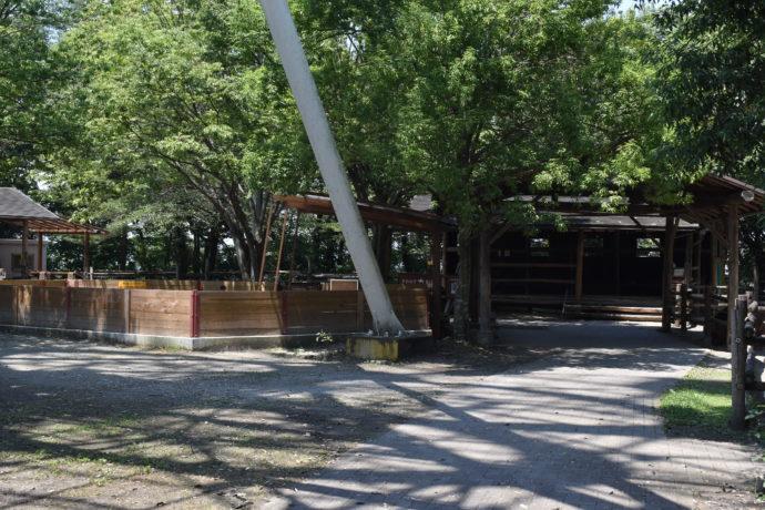 群馬サファリパークのリトルファーム入り口