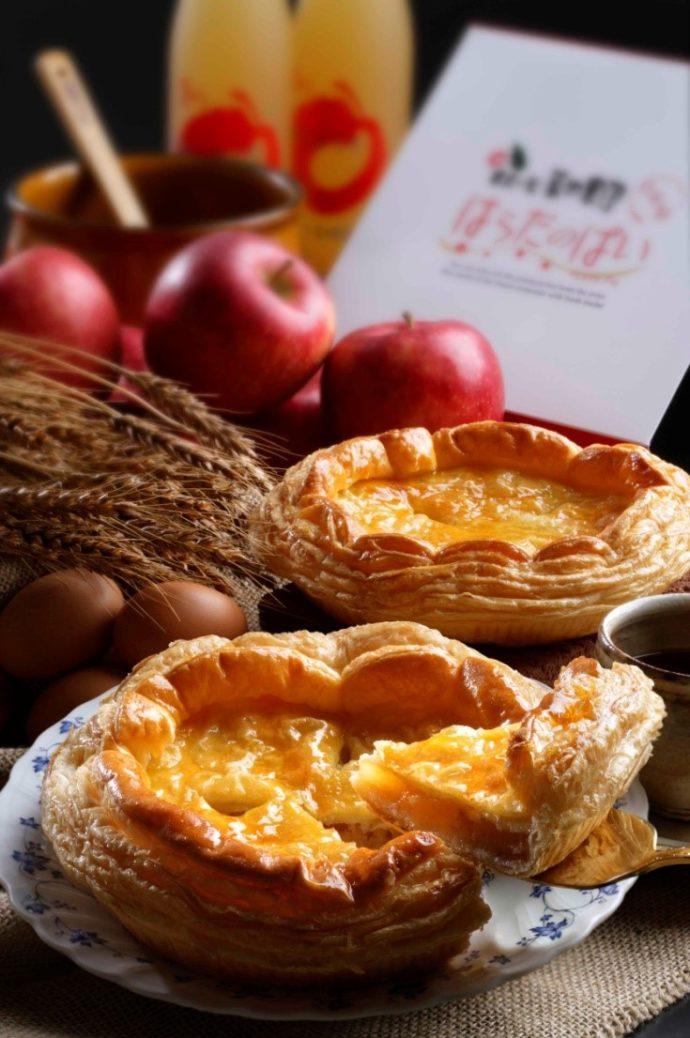 原田農園で購入できるアップルパイ