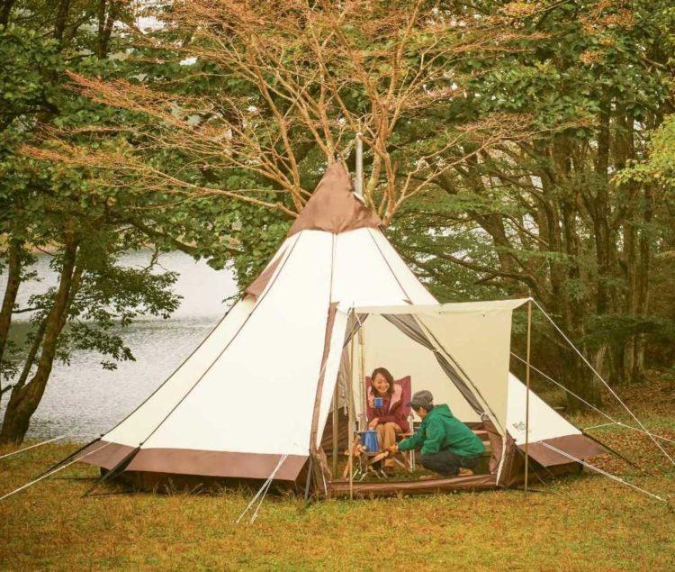 八東ふる里の森のogawa手ぶらテントのイメージ