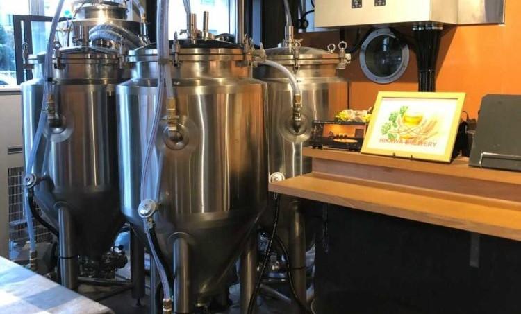 氷川ブリュワリーの醸造の様子