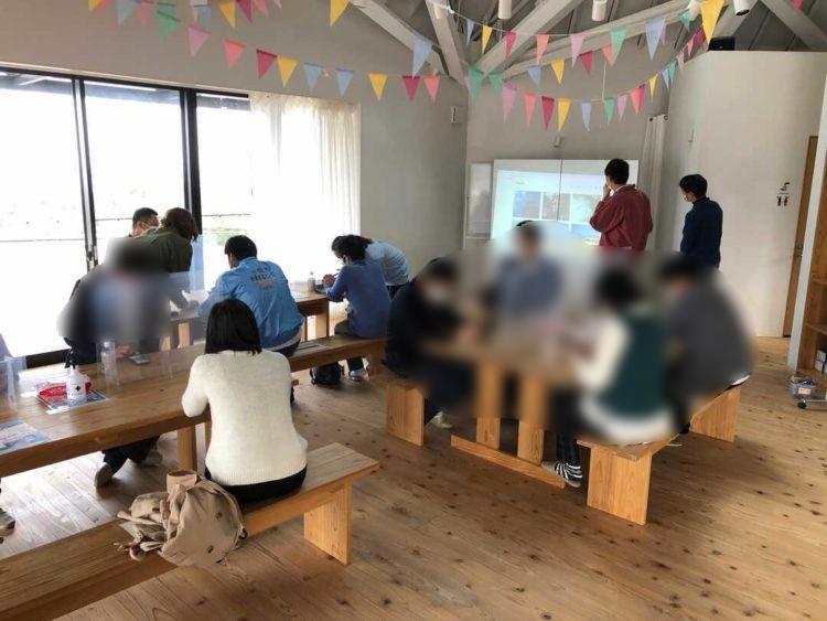 富山県氷見市で婚活支援をするそれいけ!ひみ婚のフォトコンイベントの様子