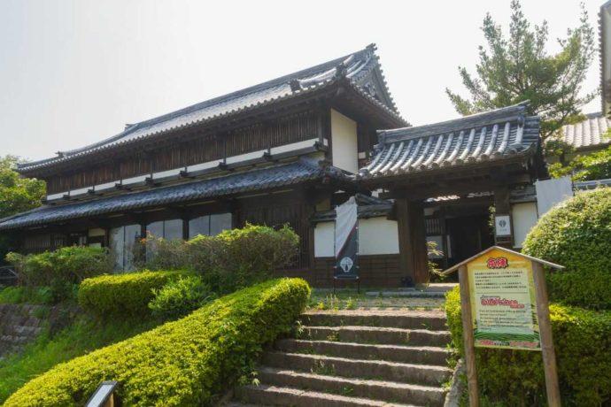 佐賀県嬉野市の佐賀元祖忍者村 肥前夢街道にある書院造の建物
