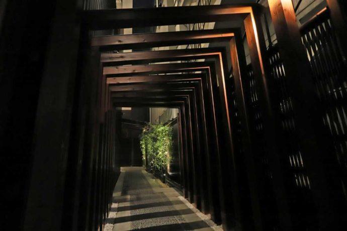 東京都港区北青山にある『大人の隠れ居酒屋 豊和 表参道』エントランス