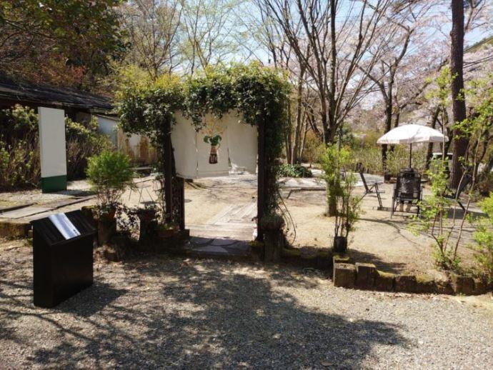 法福寺のお寺カフェ風庵の限定アウトドアカフェ
