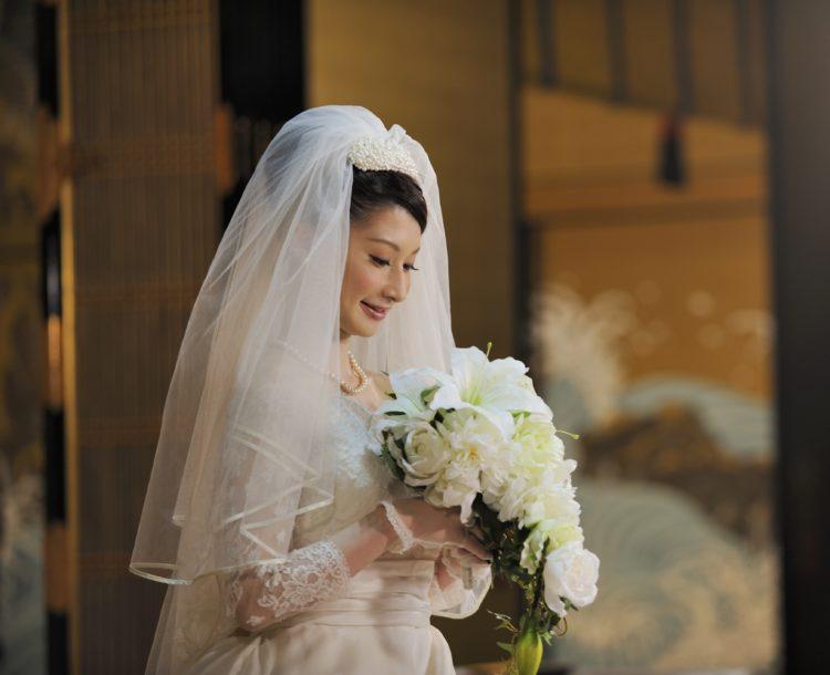 西本願寺鹿児島別院の仏前結婚式ではウェディングドレスでの挙式もできますか