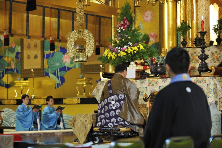 西本願寺 鹿児島別院での仏前式の流れについて教えてください