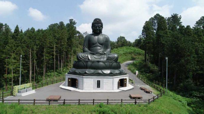 寳光寺の鹿野大佛像