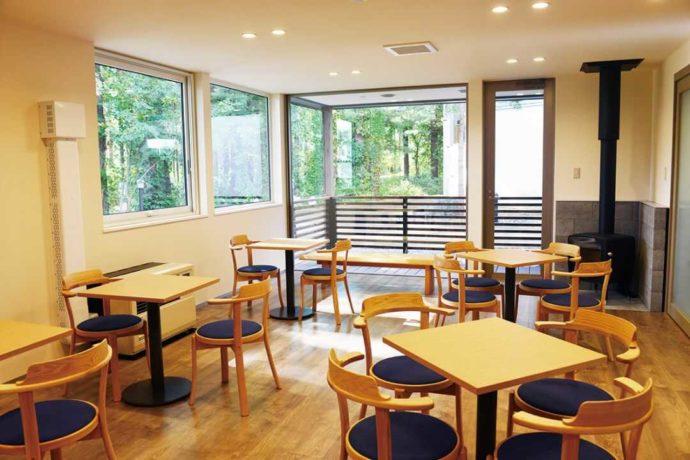 三浦綾子記念文学館の分館の氷点ラウンジの写真