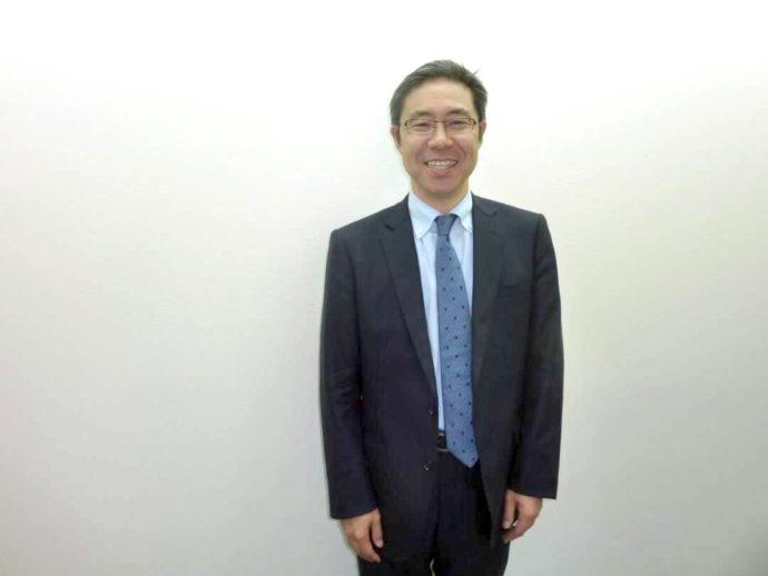 今井美術館館長・今井大造さんの写真