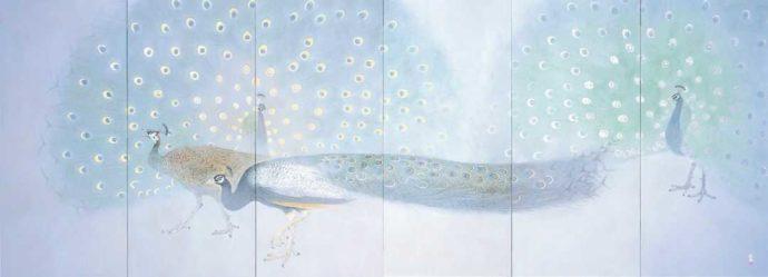 今井美術館に所蔵されている絵画・西田俊英「キング」