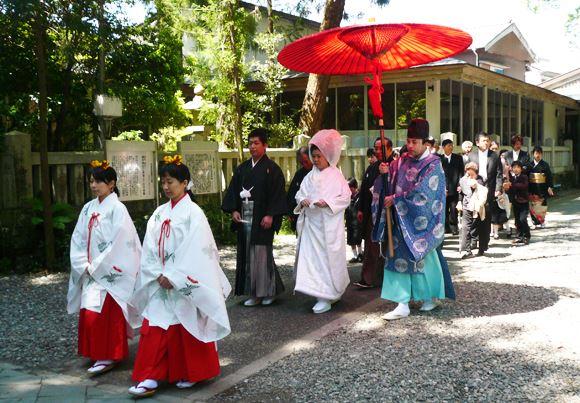 椙本神社の神前結婚式について