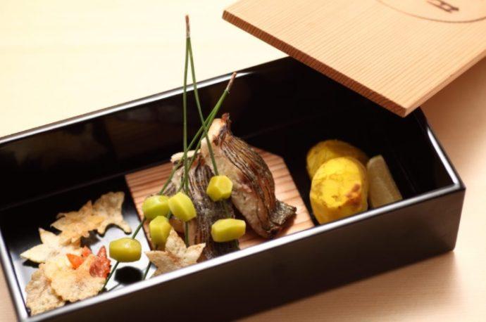 東京都中央区銀座にある「いしづか」の料理