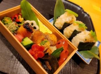 東京都中央区銀座にある「いしづか」の割烹会席弁当