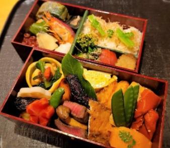 東京都中央区銀座にある「いしづか」の割烹会席弁当(2,200円)