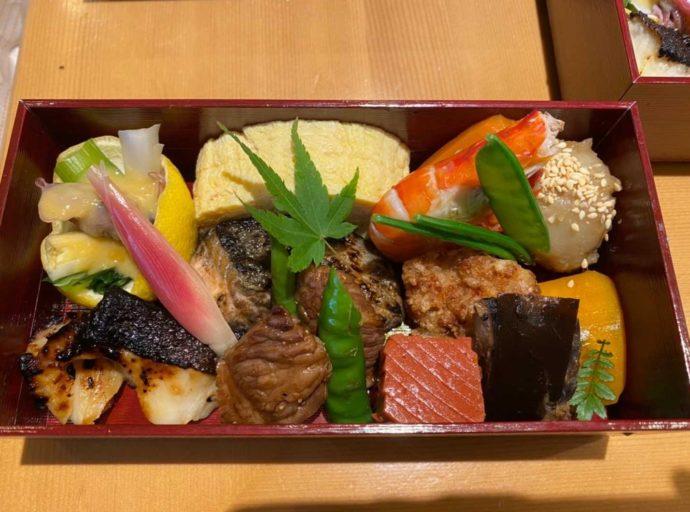 東京都中央区銀座にある「いしづか」でテイクアウトできるお弁当