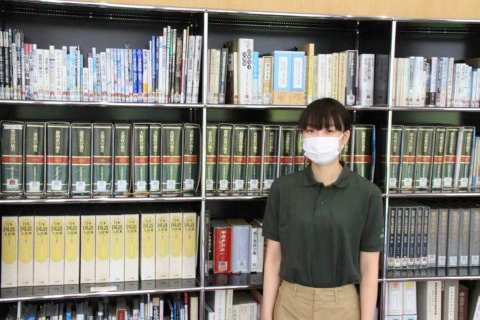 西尾市岩瀬文庫の学芸員・上野さん