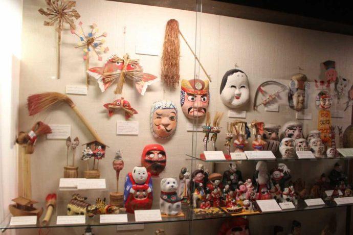 日本玩具博物館で見られる静岡県の郷土玩具