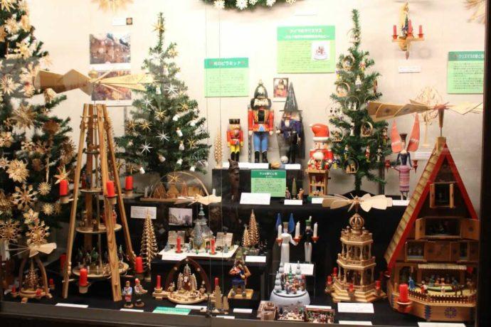 日本玩具博物館にあるドイツの伝統玩具