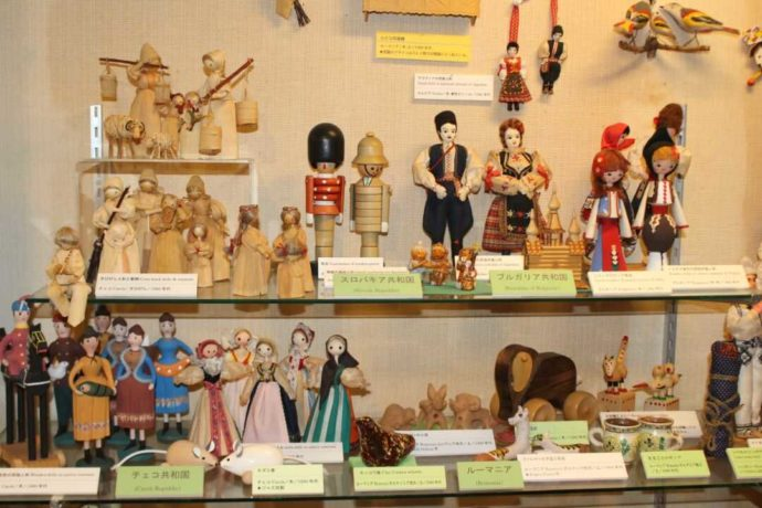日本玩具博物館で見られる東欧の伝統玩具たち