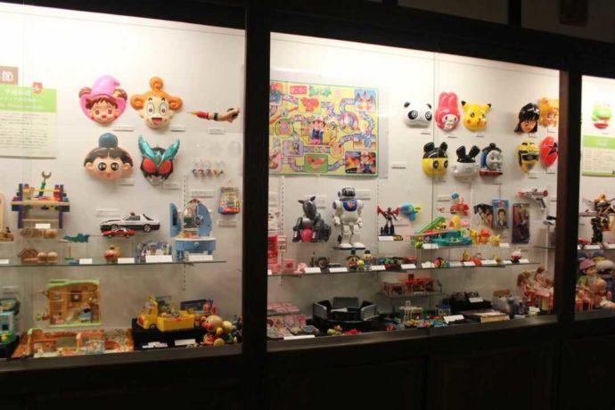 日本玩具博物館の平成時代の玩具
