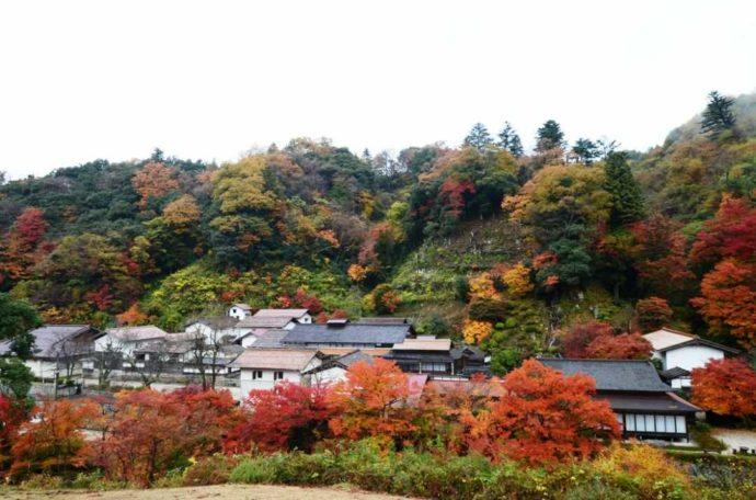 可部屋集成館の櫻井家全景