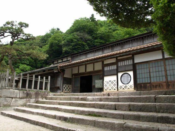 櫻井家住宅の玄関