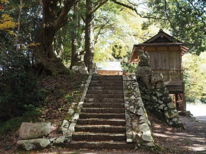 可部屋集成館の鎮守神社