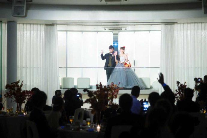 香川県高松市にある「THE CHELSEA」で行う披露宴の演出イメージ