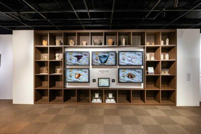 ふるさと考古歴史館にあるアニメーション展示
