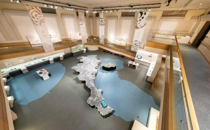 ふるさと考古歴史館にあるスロープ展示