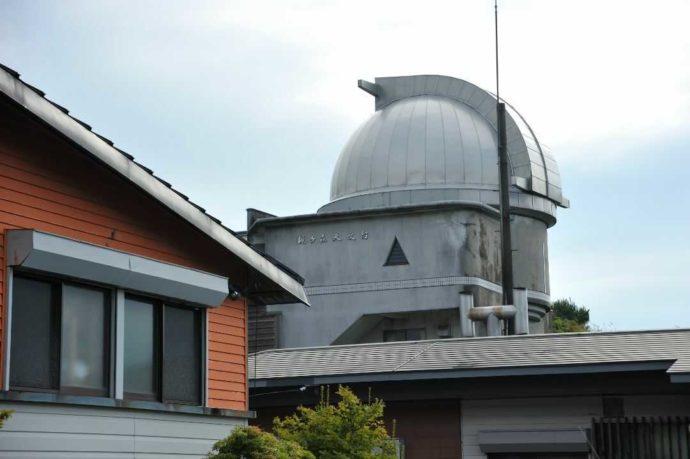 梶ヶ森にある天文台