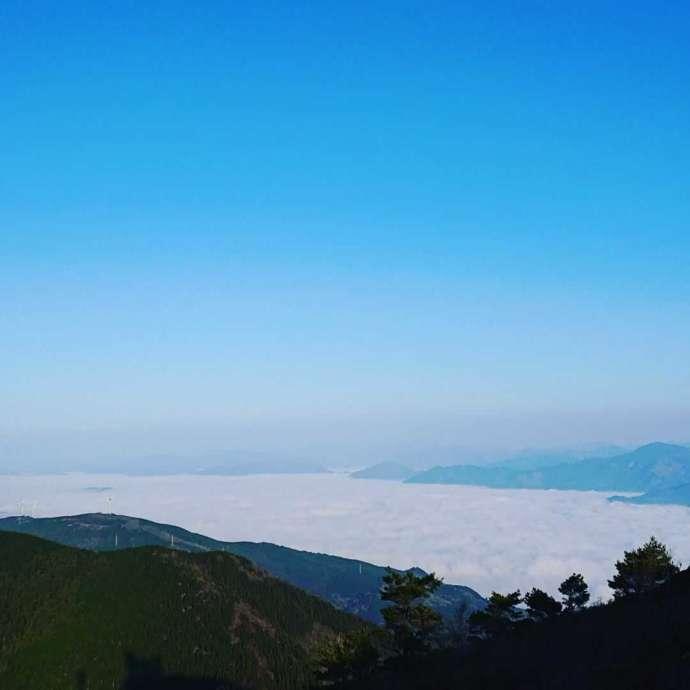 梶ヶ森から望む雲海