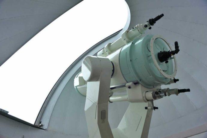 梶ヶ森天文台の望遠鏡