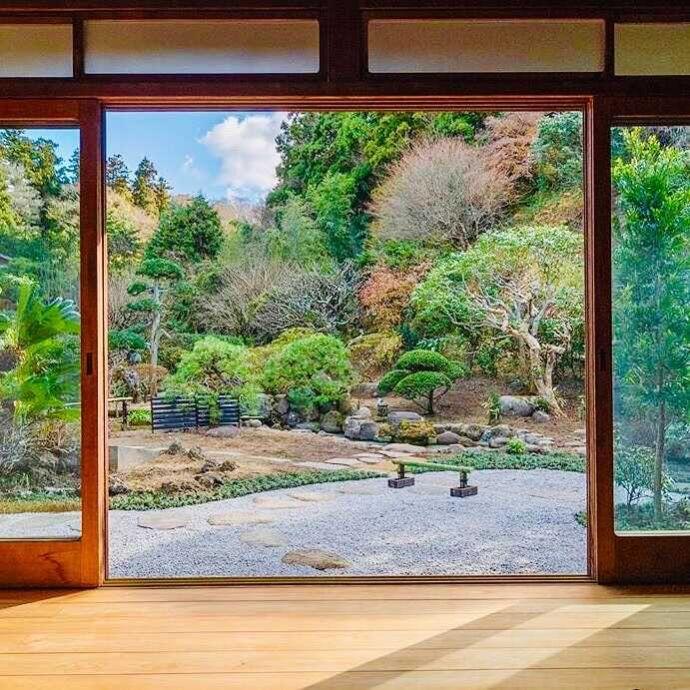 鎌倉古今の日本庭園