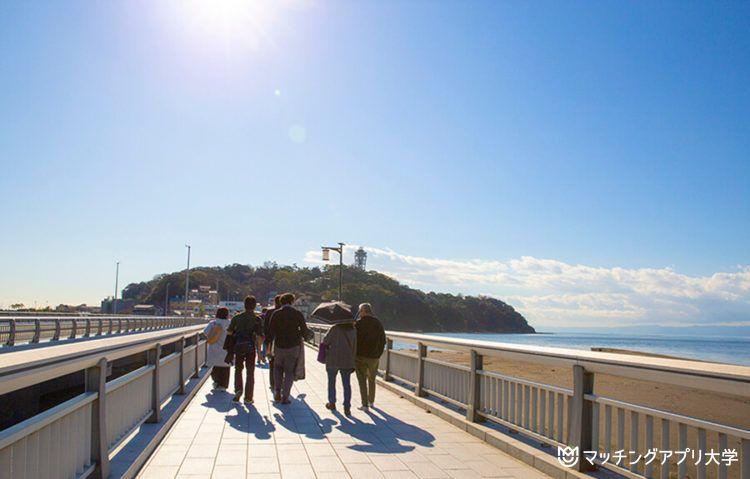 絶景と名所をめぐる「江ノ島」満喫デートプラン