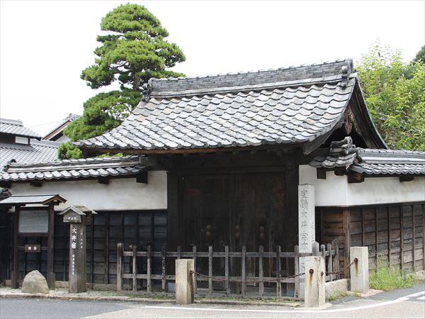 中山道大井宿の桝形