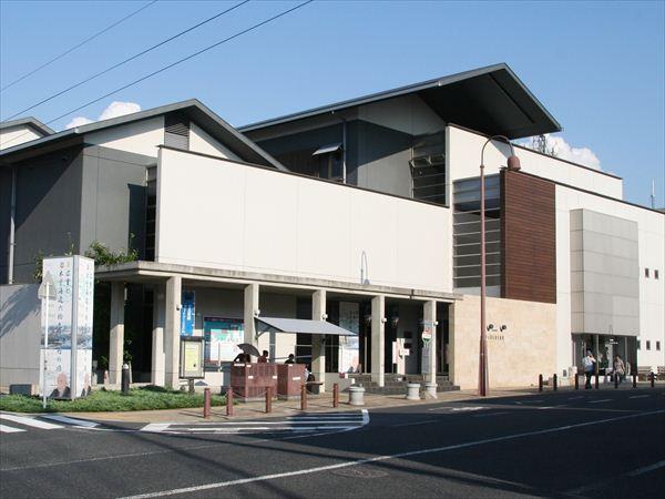 中山道広重美術館外観