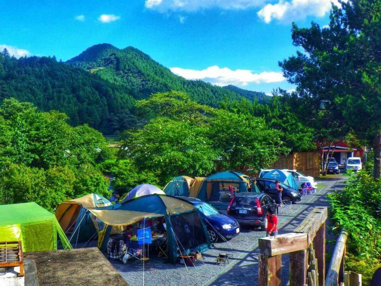 ケニーズ・ファミリー・ビレッジ/オートキャンプ場のオートサイト