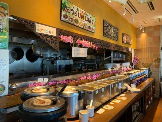 タイハーブレストラン ソムタム by クワンチャイのビュッフェ