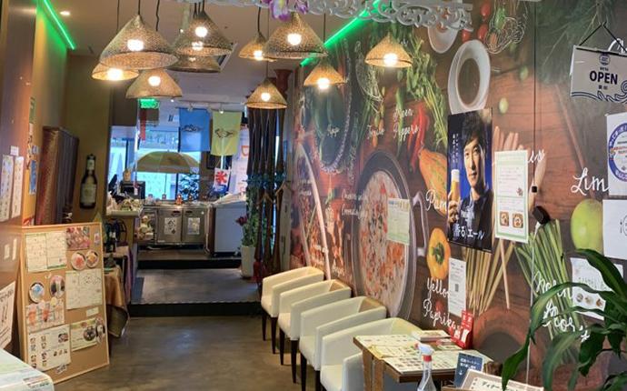 大阪府大阪市北区のNU茶屋町に店を構えるタイハーブレストラン ソムタム by クワンチャイの入り口